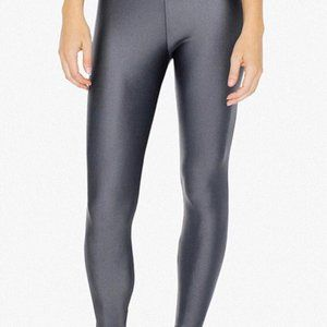 American Apparel - Grey Silver Tights